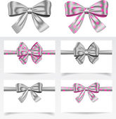 Ribbon set — Stock Vector