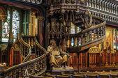 Montreal Notre Dame Basilique — Stock Photo