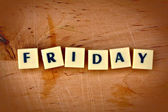 Friday — Foto de Stock