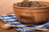 Traditional polish sauerkraut. — Stock Photo