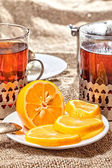 Hot tea — Stock Photo