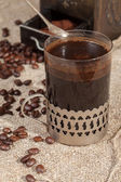 Turkish coffee. — Stockfoto