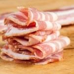 Raw bacon — Stock Photo #45934523