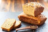 オーツ麦のふすまパン — ストック写真