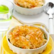 Chicken and vegetable pie — Stock Photo #12710837