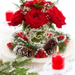 Christmas arrangement — Stock Photo #13193182