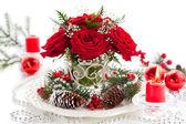 Christmas arrangement — Stock Photo