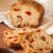 Sundried tomato bread — Stock Photo