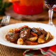 Boeuf Bourguignon - Stock Photo