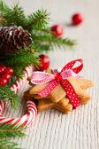 рождественское печенье — Стоковое фото