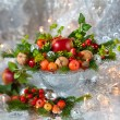 Christmas arrangement — Stock Photo #13633433