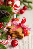 Kerstkoekjes. — Stockfoto