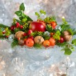 Christmas arrangement — Stockfoto