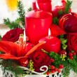 Festive Christmas table — Stock Photo #13861653