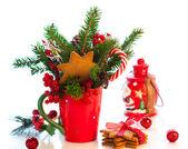 рождественские украшения. — Стоковое фото