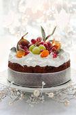 Christmas cake — Stock Photo