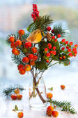 Christmas arrangement — Stock Photo