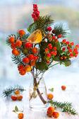 Weihnachts-arrangement — Stockfoto