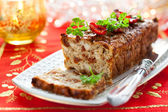 Chicken Meatloaf — Stock Photo