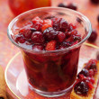 Stock Photo: Apple and cranberry chutney