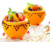 Fruit dessert — Stock Photo