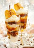 Caramel Apple Parfait — Stock Photo