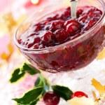Cranberry sauce — Stock Photo #14386399