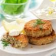 Cod Fish Cakes — Stock Photo #14386671