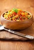 Bulgur with vegetables — Stock Photo