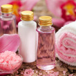 Body care products or spstill life — Stock Photo #16832857
