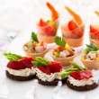 Appetizers - Foto Stock
