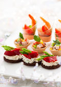 Appetizers — Stock Photo