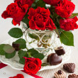 Red roses for Valentine — Stock Photo #18634461