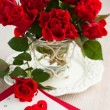 Roses  for Valentine — Stock Photo