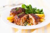 Minced meat patties — Stock Photo
