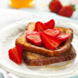 Royalty-Free Stock Photo: French toast with strawberry