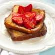 French toast with strawberry — Stock Photo #23919165