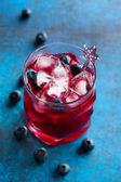 Blueberry cocktail — Stockfoto