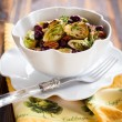 Stock Photo: Roasted brussels sprouts