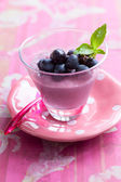 Grape mousse — Stock Photo