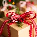 Christmas gift box — Stock Photo #32053229