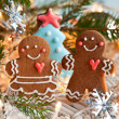 Gingerbread couple  — Stock Photo #32753219