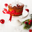 Christmas fruit cake — Stock Photo #32753293