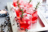 Drinks for Christmas — Stock Photo