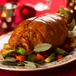 Stuffed turkey breast — Stock Photo