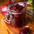 Beetroot chuthey — Stock Photo