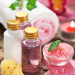 Body care products or spa still life — Stock Photo #33433327