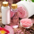 Body care products or spa still life — Stock Photo #33433357