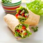 Tortilla wraps — Stock Photo #33433415