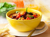 Turkey Ragout with Vegetables — Stock Photo